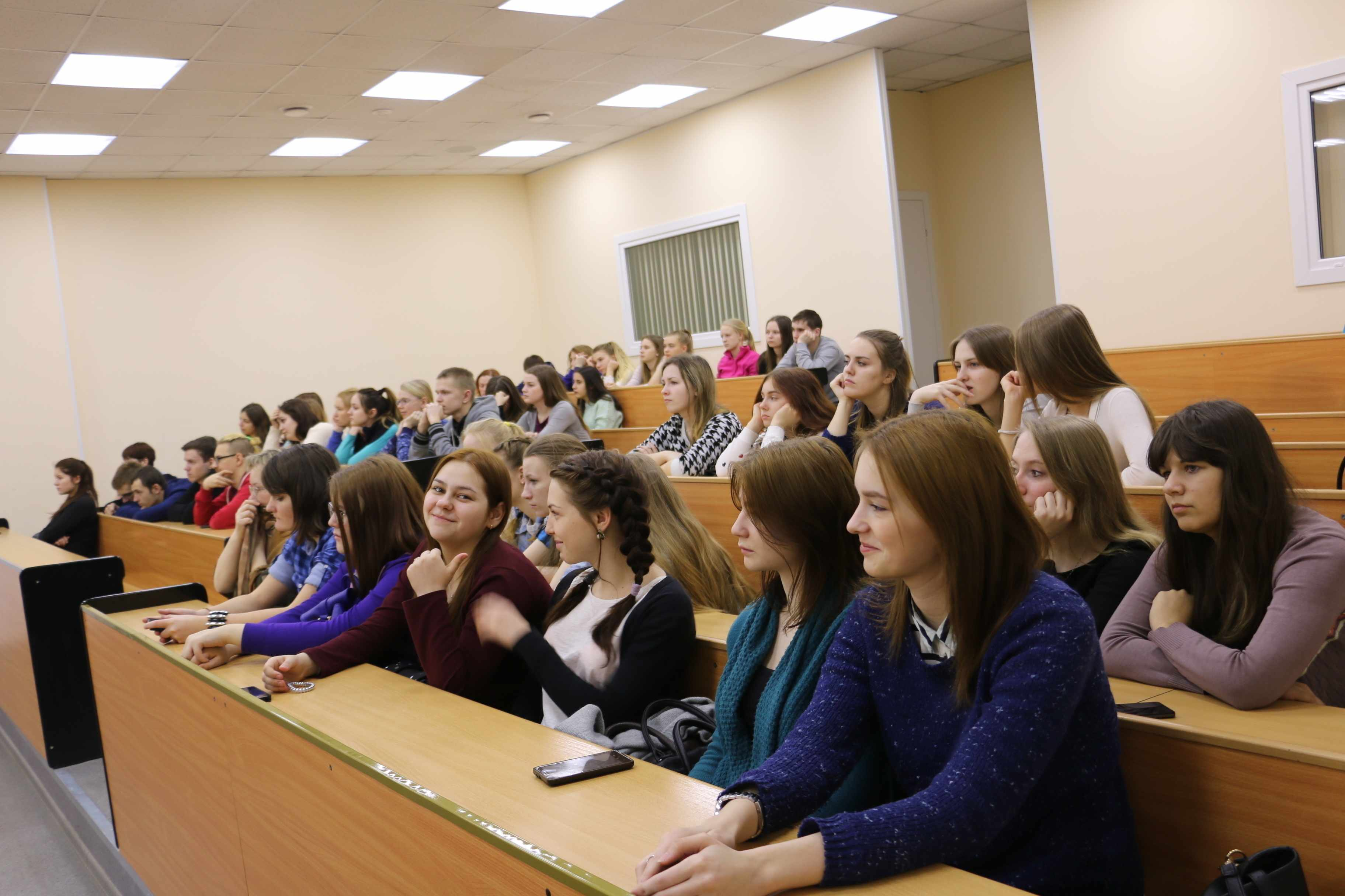 Студенты колледжа