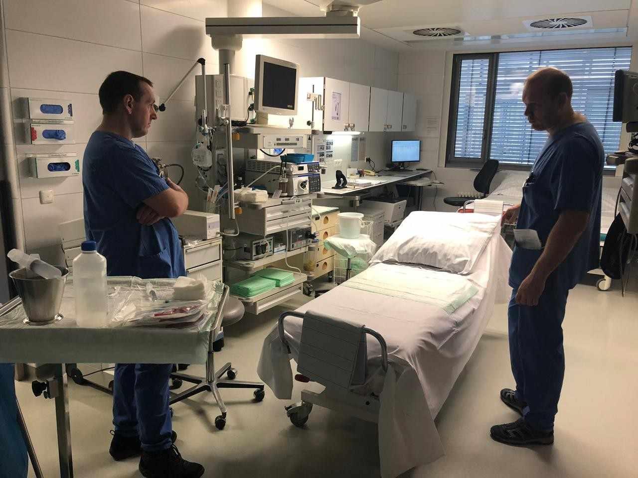 Оснащение зарубежных клиник во многом лучше российских