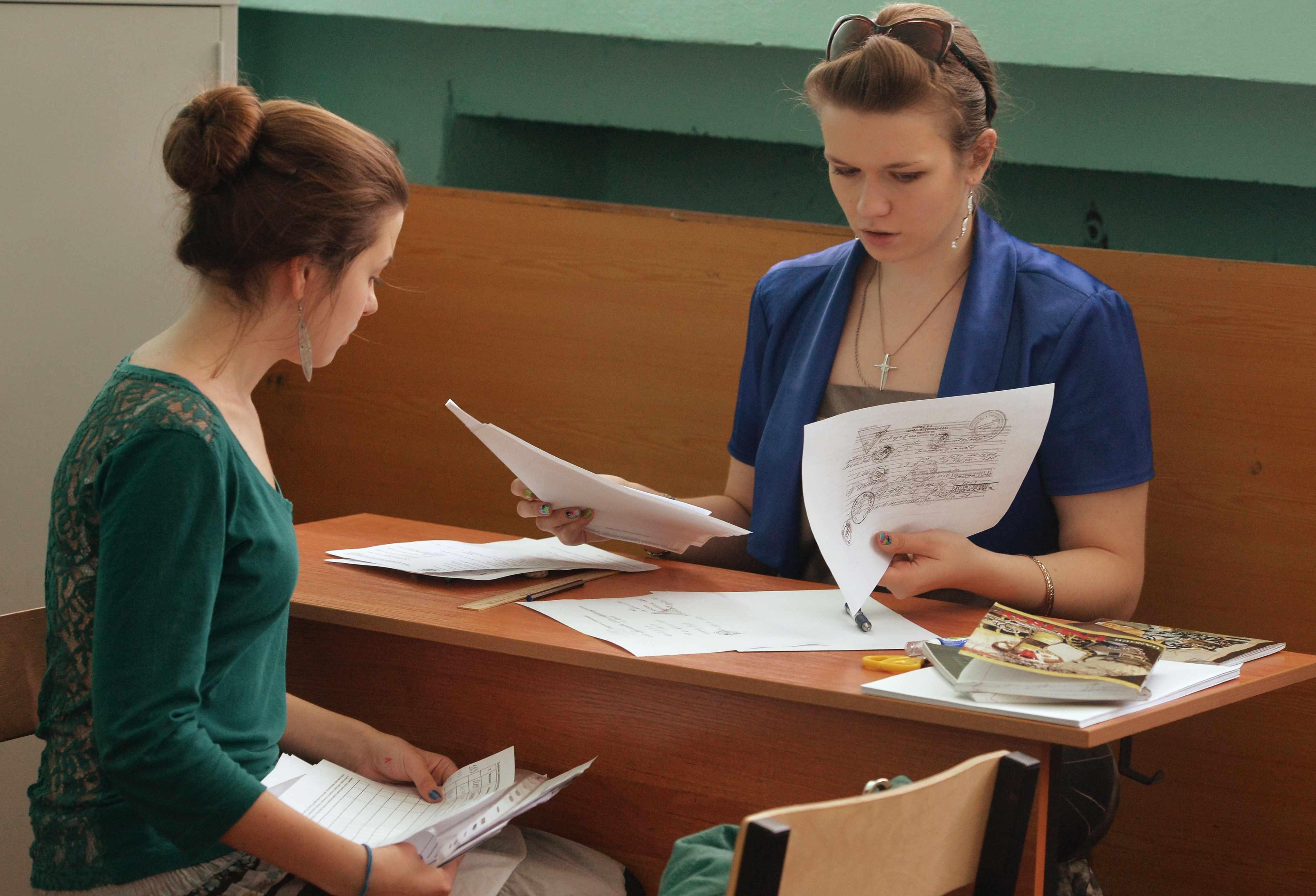 Подача документов в училище