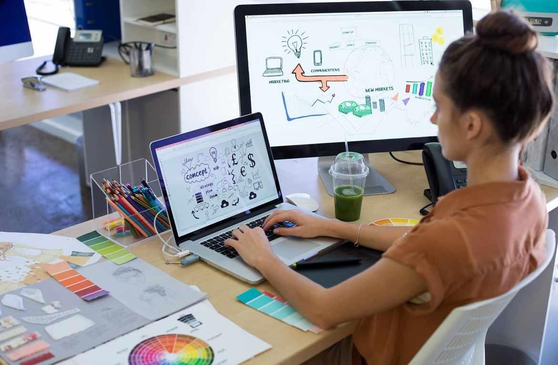 Работать графическим дизайнером смогут люди с творческими задатками