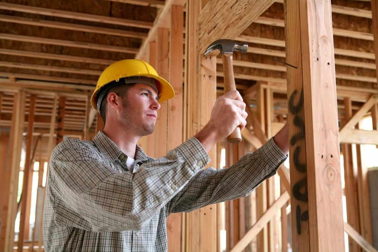 Плотник — профессия, одно из самых древних ремёсел, которое связано с механической обработкой дерева и превращением необработанной древесины в детали, конструкции и стройматериалы