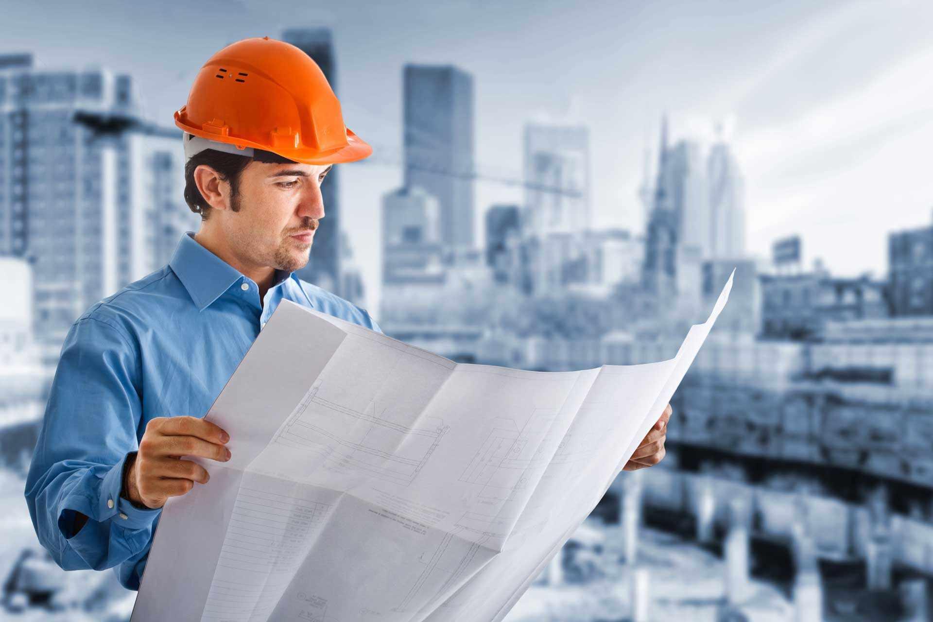 Инженер производственно-технического отдела занимается созданием условий производства и строительства
