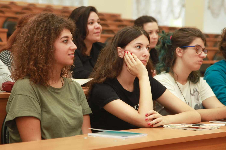 Студенты психологи