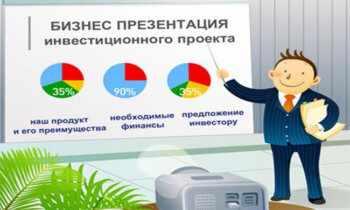 Презентация бизнес проекта
