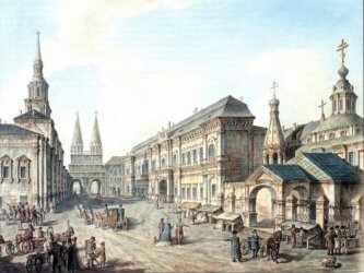 Первое здание МГУ