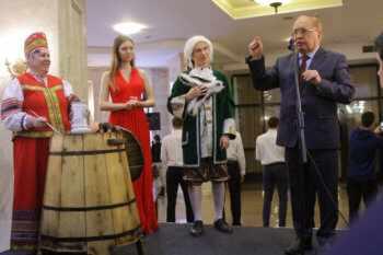Традиция праздновать Татьянин день в МГУ