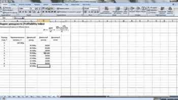 Преимущества Excel